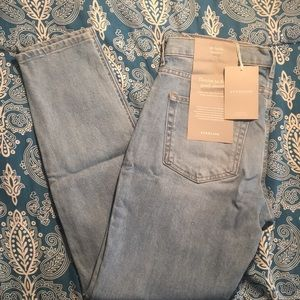 NWT Everlane Jeans Mid Rise Skinny 28 Ankle